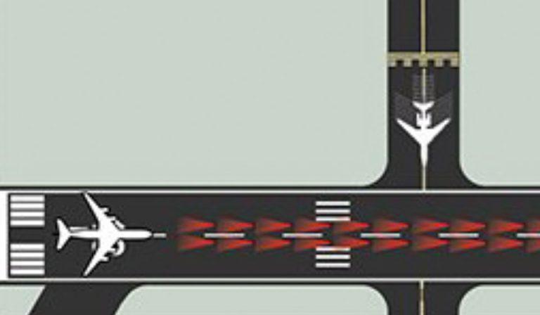 Runway status lights